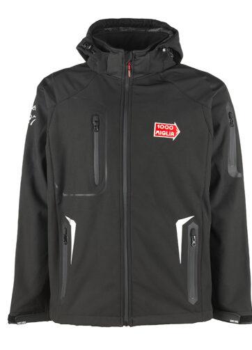 giubbino giacca nero 1000 miglia merchandise ufficiale