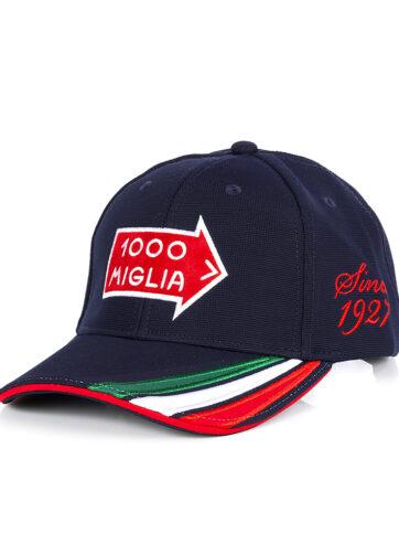 cappello baseball blu navy originale 1000 Miglia