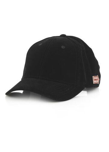 cappello in velluto baseball nero originale 1000 Miglia