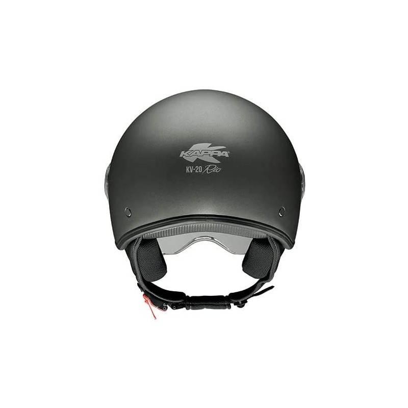 Casco moto scooter jet Kappa Urban colore nero