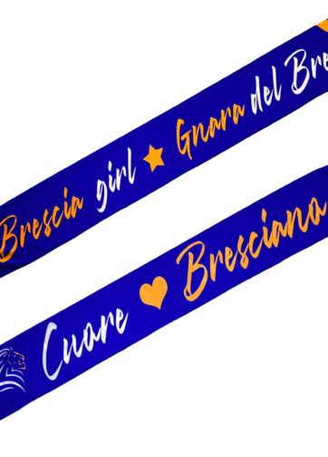 Sciarpa in raso donna supporter Brescia