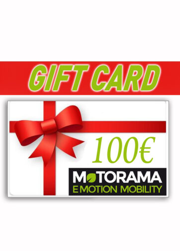 Gift Card 100 € Motorama