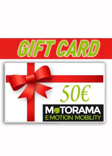 Gift Card 50 € Motorama Bergamo