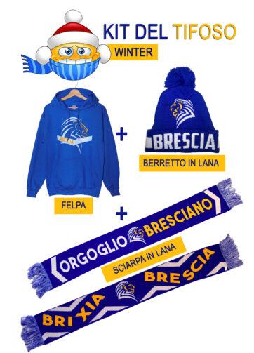 Kit Tifoso Brescia - INVERNALE