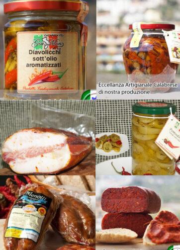"""Confezione """"Degustazione"""" Il piccante di Calabria"""