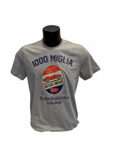 T-Shirt Grigio 1000 Miglia