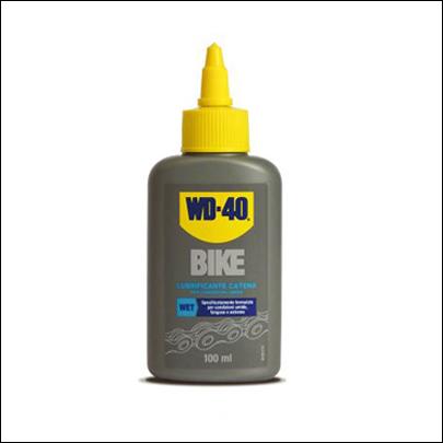 WD 40 lubrificante catena bici